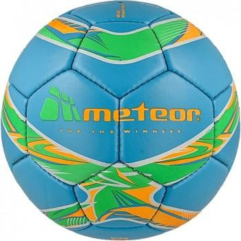 Piłka nożna Meteor 360 Shiny niebieska HS 00077