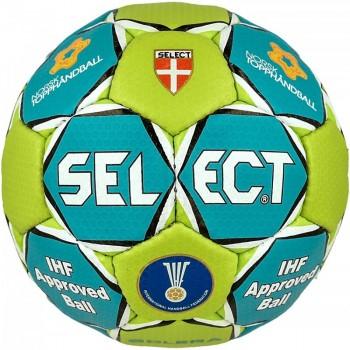Piłka ręczna SELECT Solera III NTH niebiesko-zielona