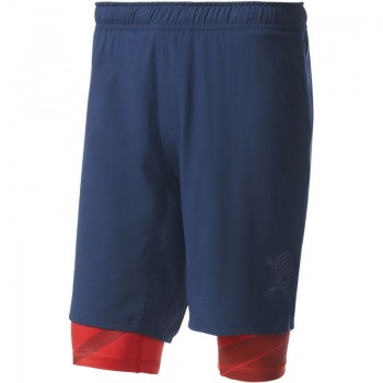 Spodenki treningowe adidas Crazytrain Two-in-One Shorts M BK6162