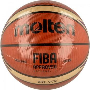 Piłka do koszykówki Molten BGL7X-E7T EuroBasket 2017