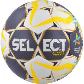 Piłka ręczna Select Ultimate Replica 2017 Women biało-żółta