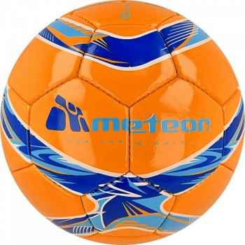 Piłka nożna Meteor 360 Shiny pomarańczowa HS 00069
