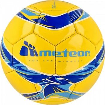 Piłka nożna Meteor 360 Shiny źółta HS 00068