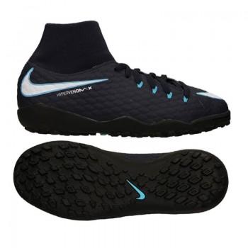 Buty piłkarskie Nike HypervenomX Phelon III DF TF Jr 917775-414