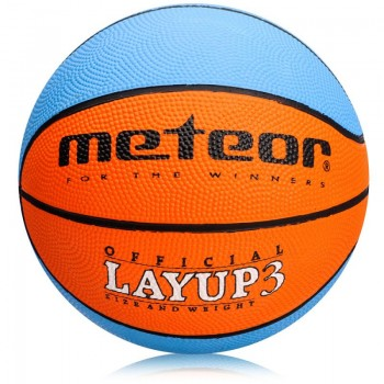 Piłka do koszykówki Meteor Layup MINI 07067