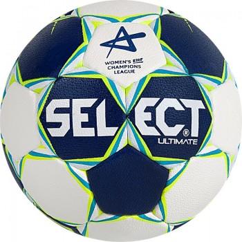 Piłka ręczna SELECT Ultimate Replica Women Champions League 2 niebiesko-biała