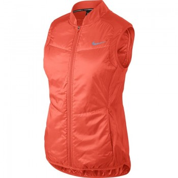 Kamizelka Nike W Polyfill Running Vest W 689256-842 pomarańczowa