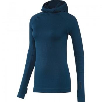 Bluza adidas Seamless Climaheat Hooded Longsleeve W AP7347