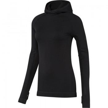 Bluza treningowa adidas Seamless Climaheat Hooded Longsleeve W AY9314