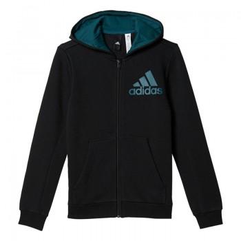 Bluza adidas Essentials Logo Full Zip Hoodie Junior BP8787
