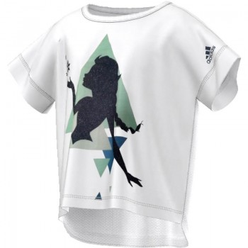 Koszulka adidas Elsa Boxy Tee Junior AY6081