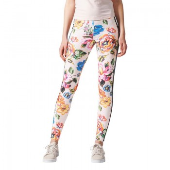 Spodnie adidas Originals Floralita Tight W BR5116