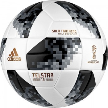 Piłka halowa adidas Telstar World Cup 2018 SLTRN CE8148