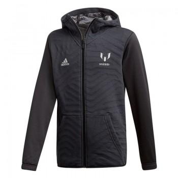 Bluza piłkarska adidas YB M FZ Hoodie Junior DJ1276