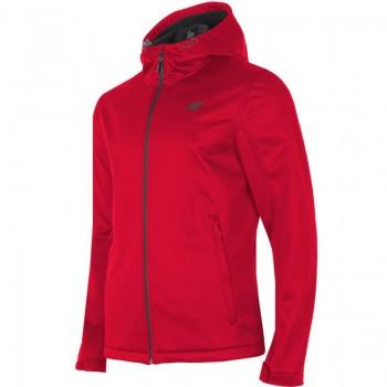 Kurtka, softshell 4F M H4L19-SFM001 62S czerwona