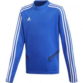 decde573d Bluza piłkarska adidas Tiro 19 Training Top niebieska JR DT5279 ...