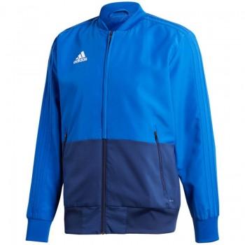 Bluza adidas Condivo 18 Presentation niebieska M CF4309