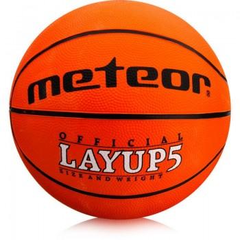 Piłka do koszykówki Meteor Layup 5 07053
